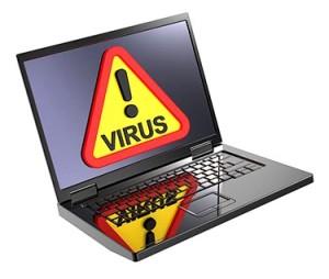 Удаление вирусов на ноутбуке