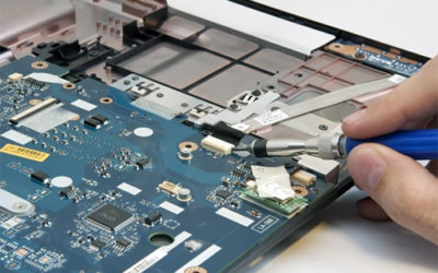 Repair laptop motherboard